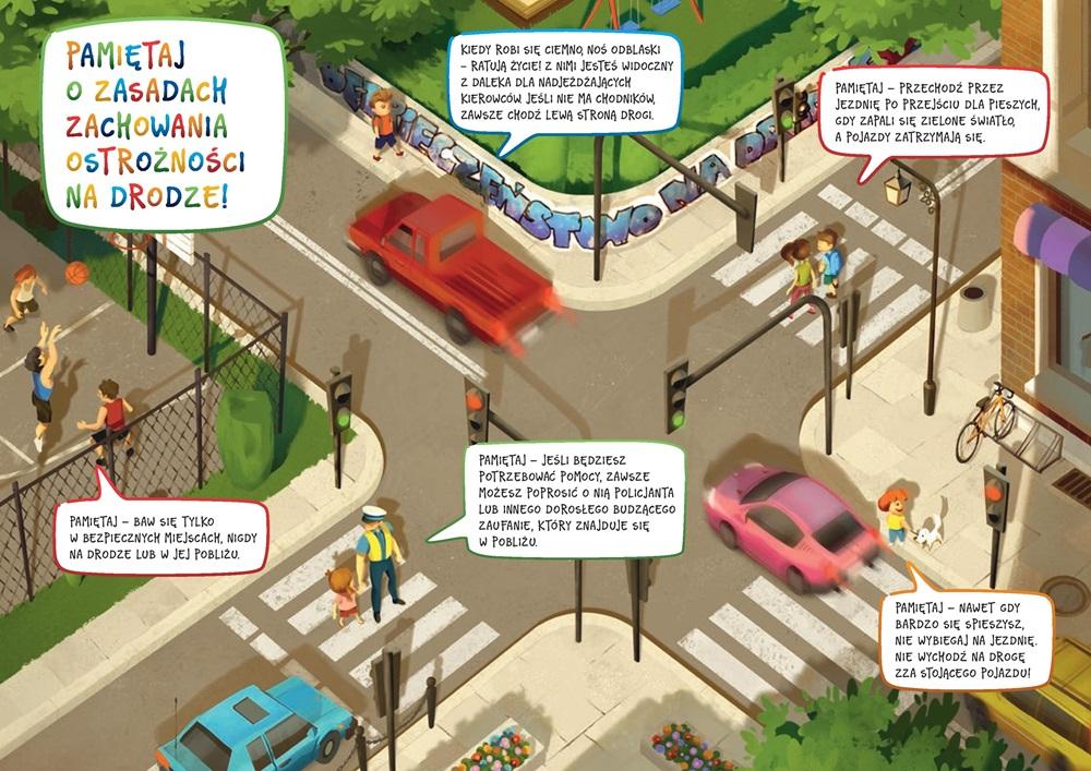 Znalezione obrazy dla zapytania bezpieczeństwo w ruchu drogowym sko