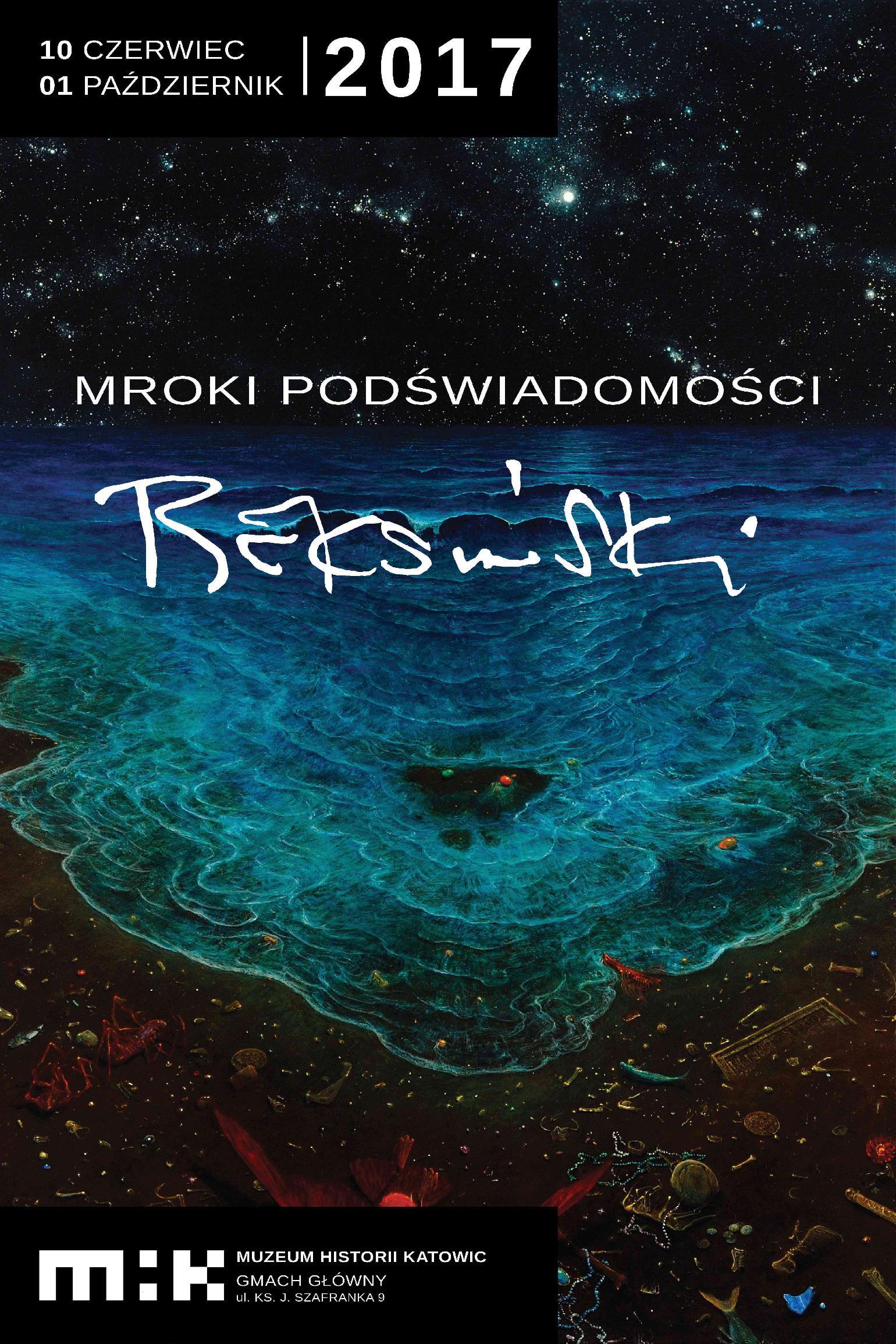 Beksiński Mrok Podświadomości Wystawa Prac Zdzisława