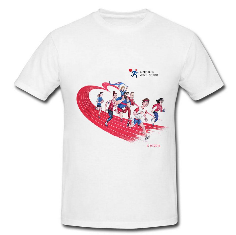 Zwycięzcy konkursu na projekt koszulki 4. PKO Biegu